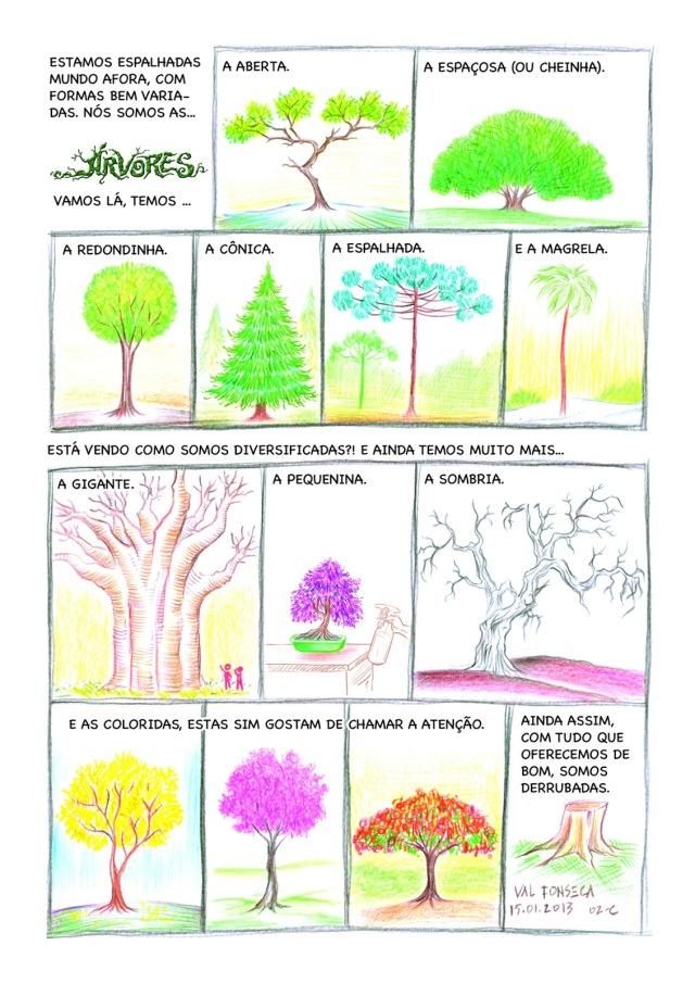 Árvores 02 cor