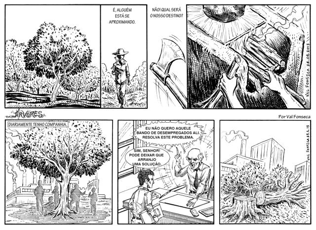 Árvores Tiras 1 e 2 MONTAGEM